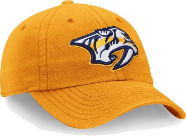 NHL Men's Nashville Predators Core Gold Adjustable Hat product image