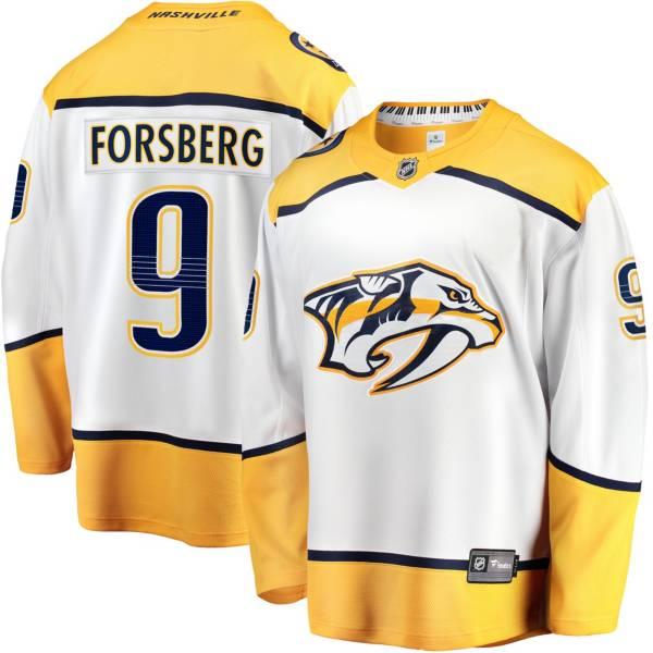 NHL Men's Nashville Predators Filip Forsberg #9 Breakaway Away Replica Jersey product image