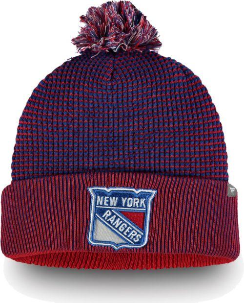 bd0cd1855a0 NHL Men s New York Rangers Waffle Knit Beanie. noImageFound. 1