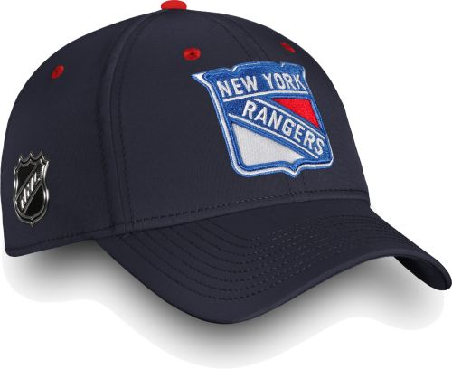 aa6eca17ed5 NHL Men s New York Rangers Authentic Pro Rinkside Speed Navy Flex Hat.  noImageFound. Previous