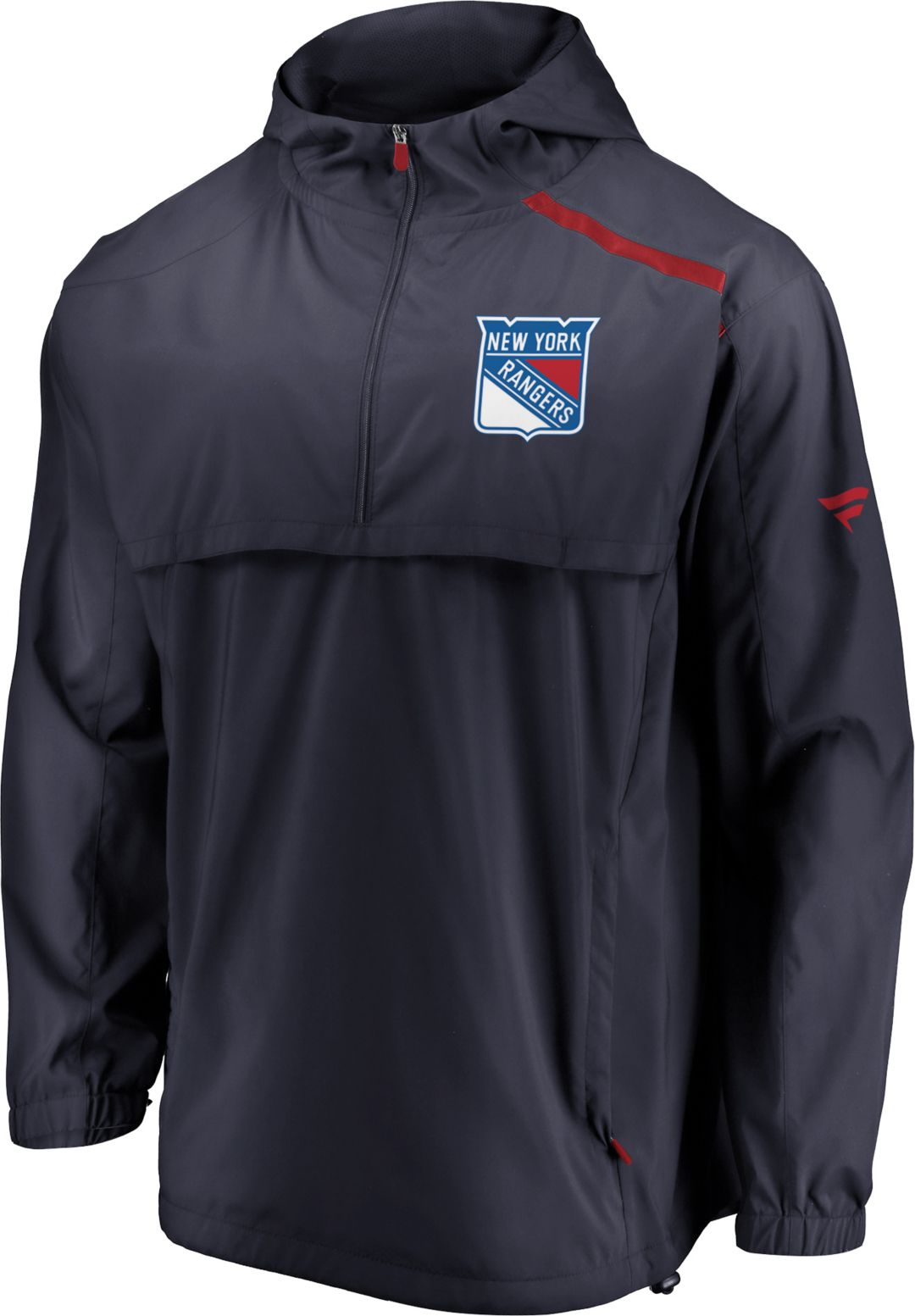 2cc2f677 NHL Men's New York Rangers Authentic Pro Navy Anorak Jacket | DICK'S ...