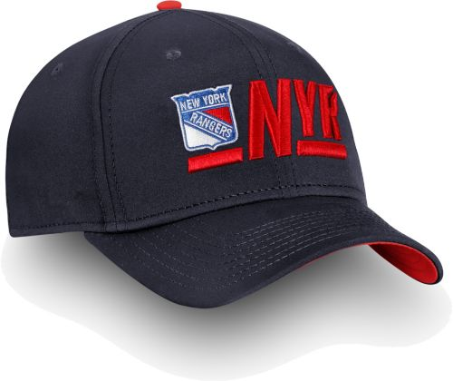 ddee9ed8096 NHL Men s New York Rangers Authentic Pro Rinkside Alpha Navy Adjustable Hat.  noImageFound. Previous