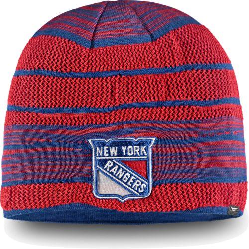 d2114d7cd21 NHL Men s New York Rangers Iconic Knit Beanie. noImageFound. 1