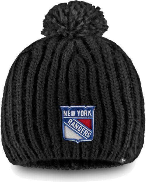 c775b8ddf3e NHL Women s New York Rangers Iconic Knit Beanie. noImageFound. Previous. 1