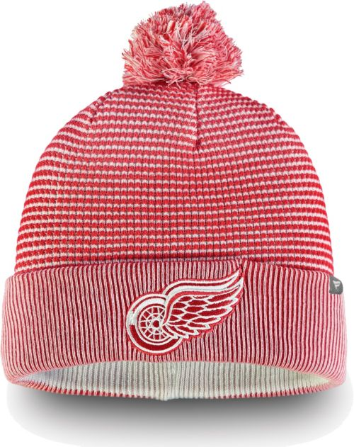 fc1e7b6db NHL Men's Detroit Red Wings Waffle Knit Beanie | DICK'S Sporting Goods