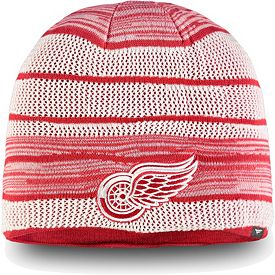 finest selection b8224 9faec NHL Men's Detroit Red Wings Iconic Knit Beanie