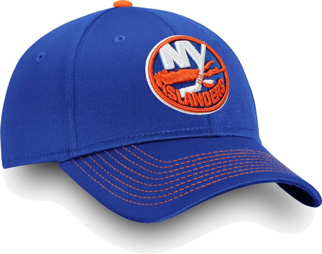 online store ddf71 a236d NHL Men s New York Islanders Depth Alpha Blue Adjustable Hat. noImageFound.  Previous