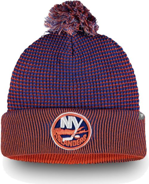 super popular 584f3 70dcc NHL Men s New York Islanders Waffle Knit Beanie   DICK S Sporting Goods