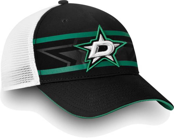 NHL Men's Dallas Stars Authentic Pro Second Season Black Trucker Adjustable Hat product image