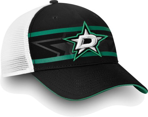 buy online f704d 3bb73 NHL Men s Dallas Stars Authentic Pro Second Season Black Trucker Adjustable  Hat