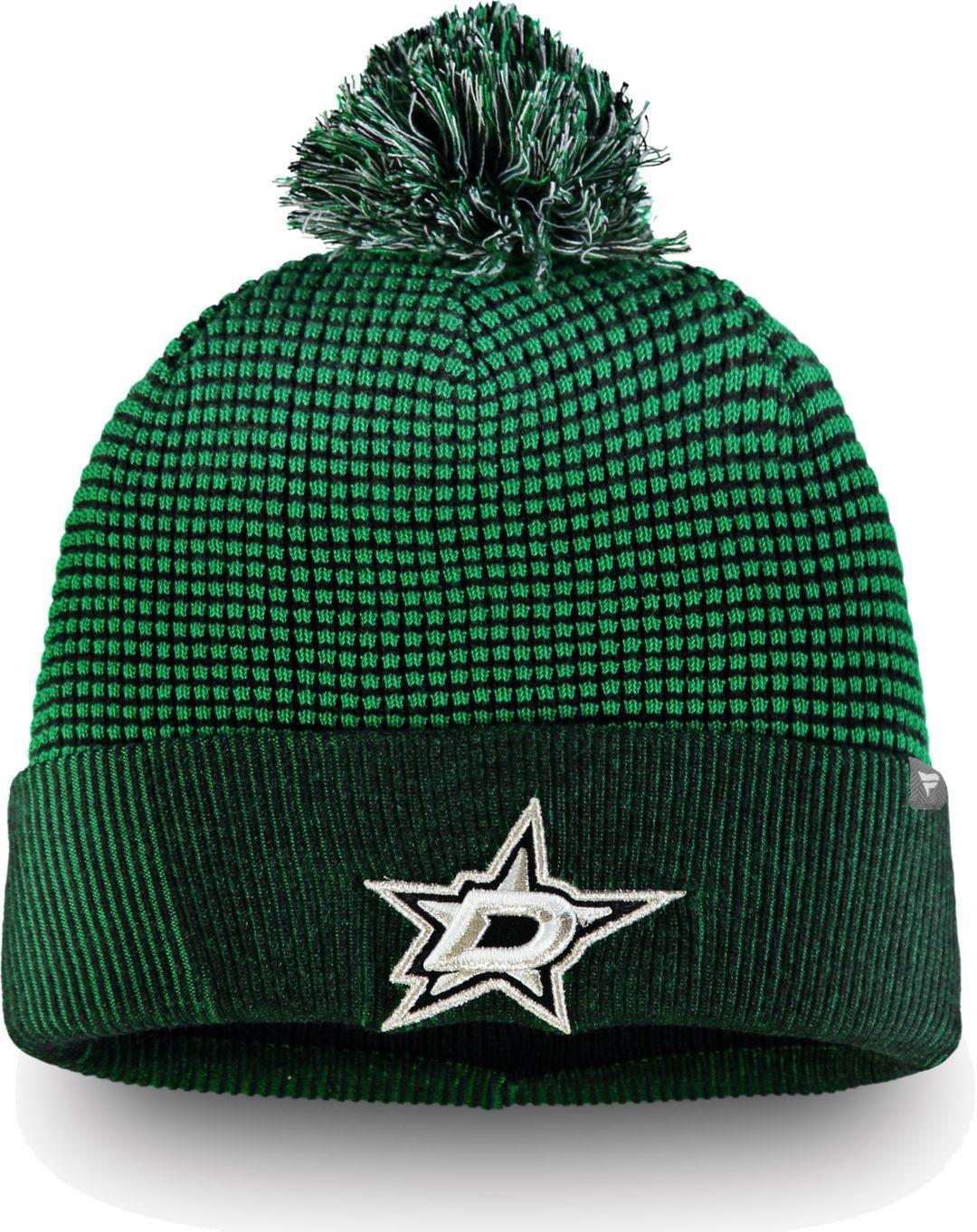 f50a2324293661 NHL Men's Dallas Stars Waffle Knit Beanie | DICK'S Sporting Goods