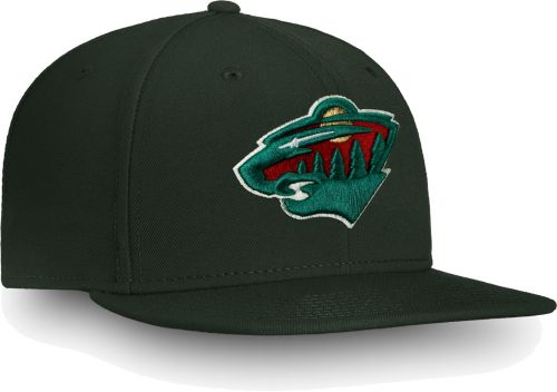 ae554eb6 ... czech nhl mens minnesota wild core logo green snapback adjustable hat.  noimagefound. previous 1904d