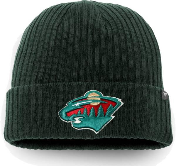 NHL Men's Minnesota Wild Core Knit Beanie product image