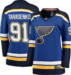 free shipping c4d38 16e02 NHL Women's St. Louis Blues Vladimir Tarasenko #91 Breakaway Home Replica  Jersey