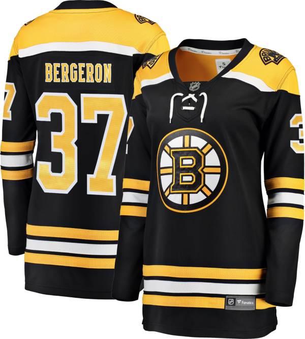 NHL Women's Boston Bruins Patrice Bergeron #37 Breakaway Home Replica Jersey product image