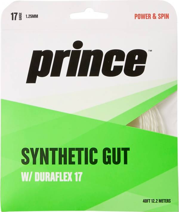 Prince Duraflex Synthetic Gut 17G Tennis Racquet String product image