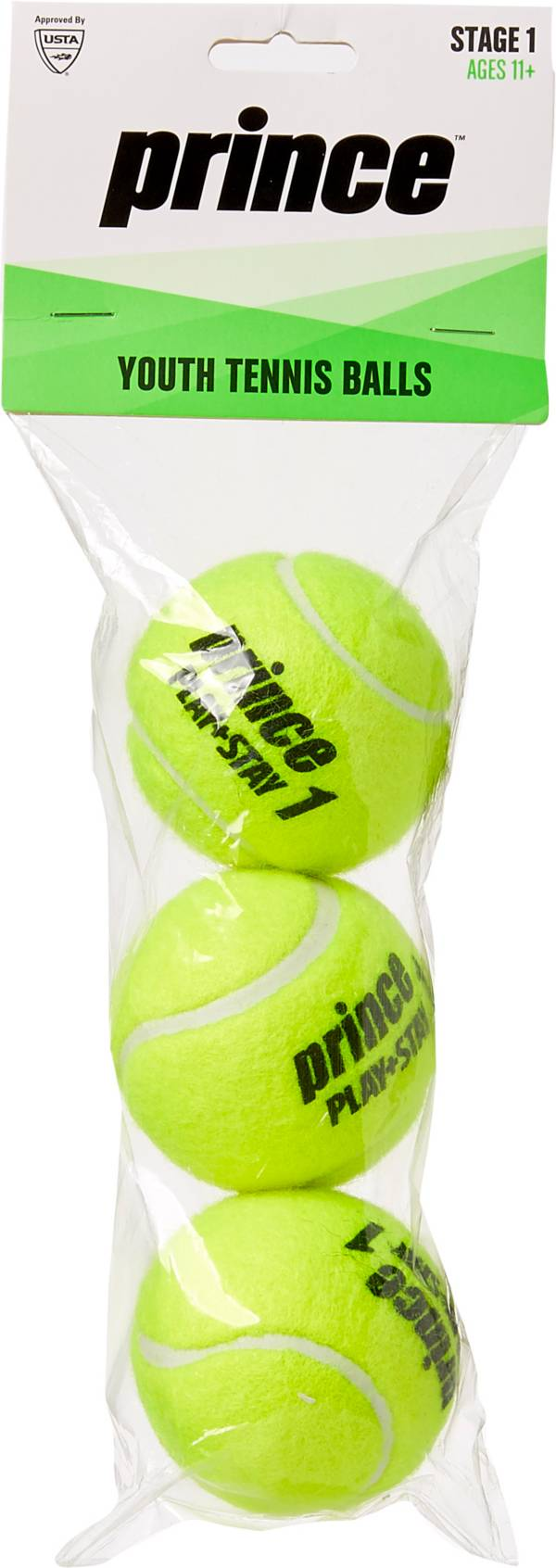 Prince Youth 3-Pack Tennis Balls product image