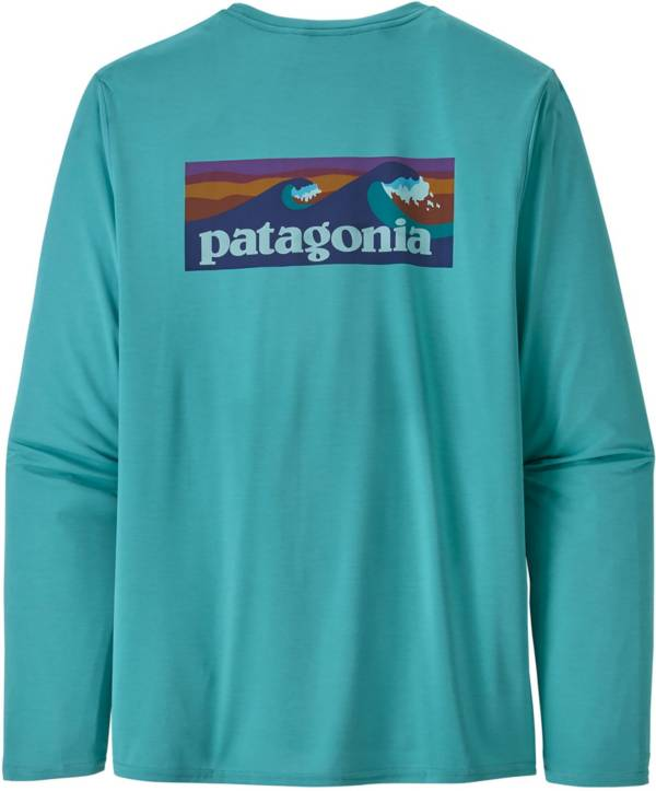 Patagonia Men's Capilene Cool Daily Graphic Long Sleeve Rash Guard product image
