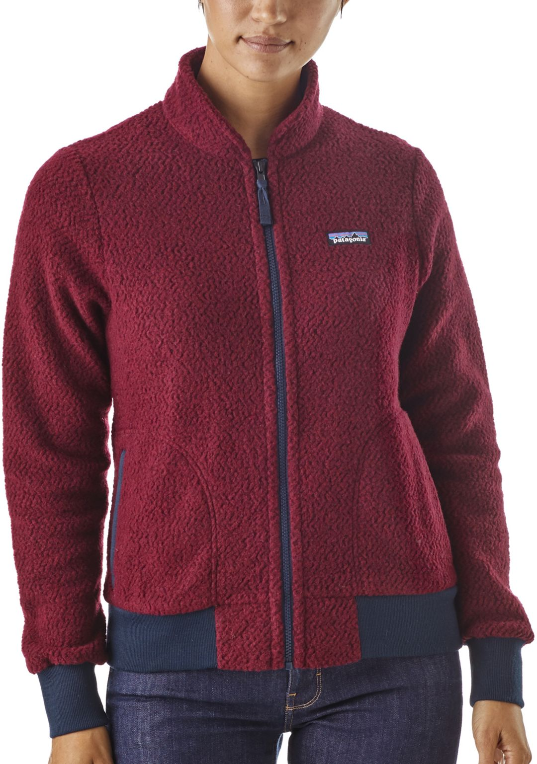1c8562bc3414d Patagonia Women's Woolyester Fleece Jacket