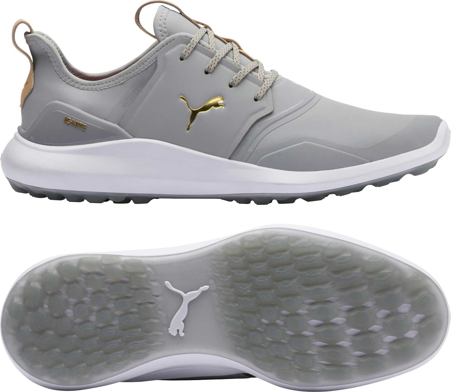 mens grey puma shoes