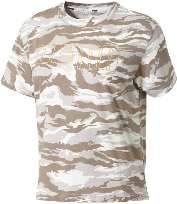 PUMA Women's Camo Printed T-Shirt product image