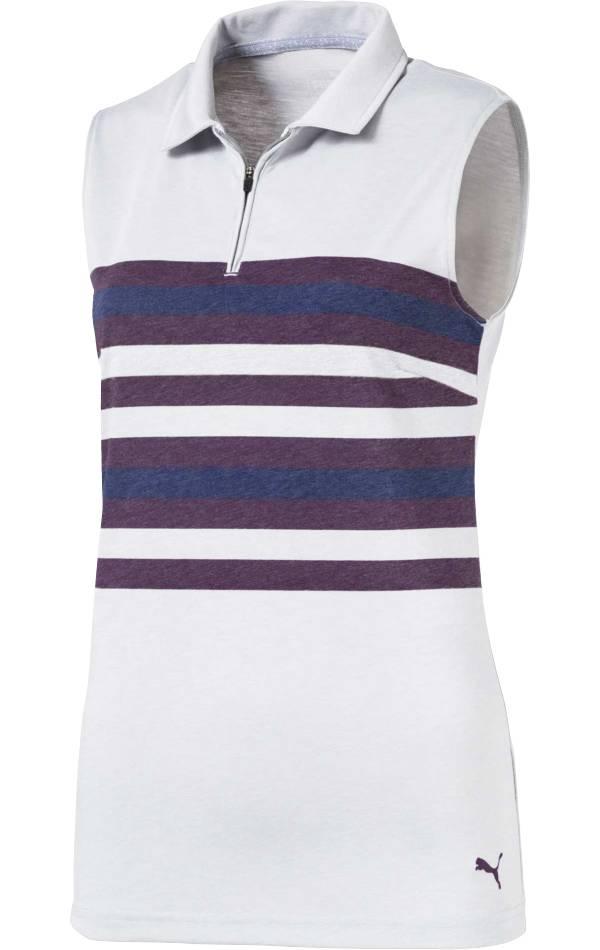 PUMA Women's Sleeveless Road Map Golf Polo product image