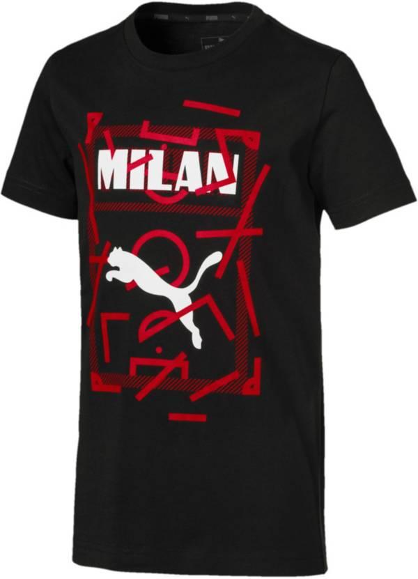 PUMA Youth AC Milan DNA Black T-Shirt product image