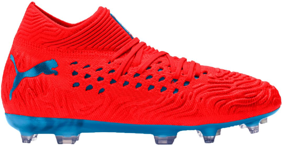 df11d2497 PUMA Kids' Future 19.1 Netfit FG/AG Soccer Cleats   DICK'S Sporting ...