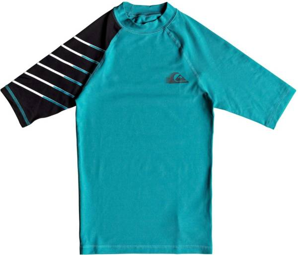 Quiksilver Boys' Active Short Sleeve Rash Guard product image