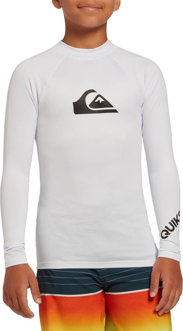 Quiksilver Boys' All Time Long Sleeve Rash Guard product image