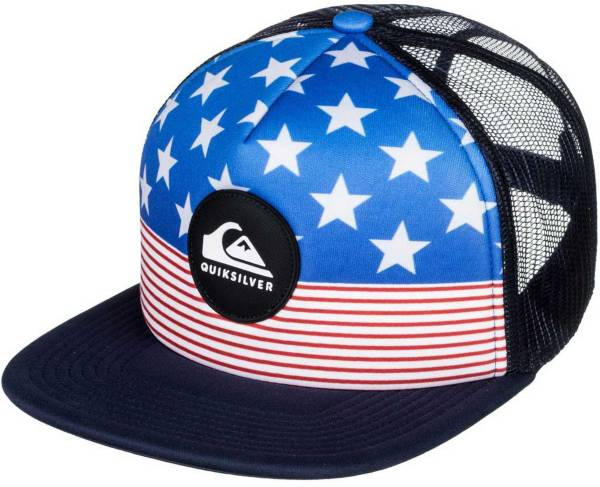 Quiksilver Men's Faded Out Trucker Hat product image