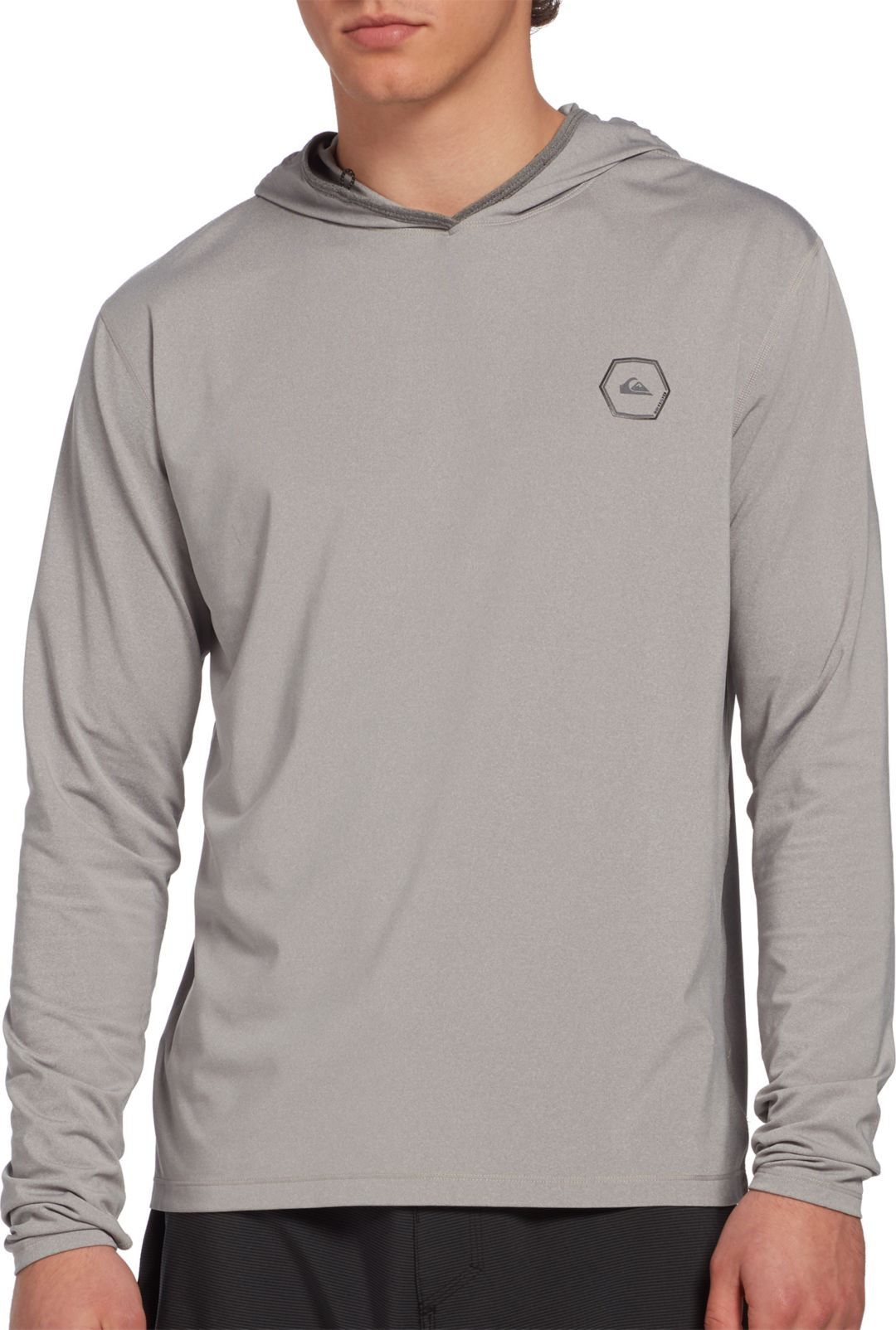 f47bb3df69dc Quiksilver Men's Amphibian Hooded Long Sleeve Rash Guard. noImageFound.  Previous