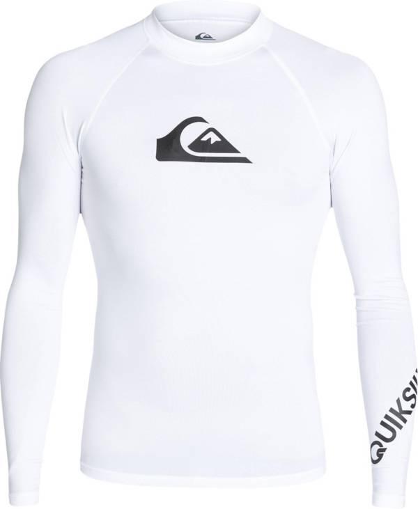 Quiksilver Men's All Time Long Sleeve Rash Guard (Regular and Big & Tall) product image