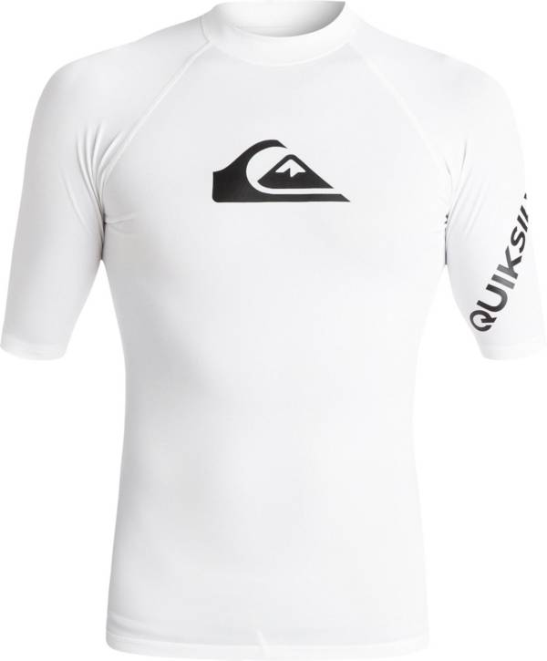 Quiksilver Men's All Time Short Sleeve Rash Guard (Regular and Big & Tall) product image