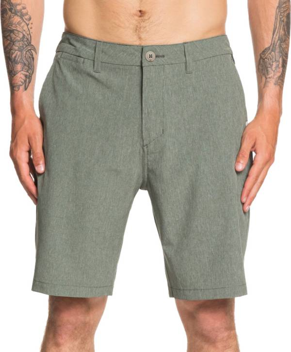 "Quiksilver Men's Union Heather Amphibian 20"" Hybrid Shorts (Regular and Big & Tall) product image"