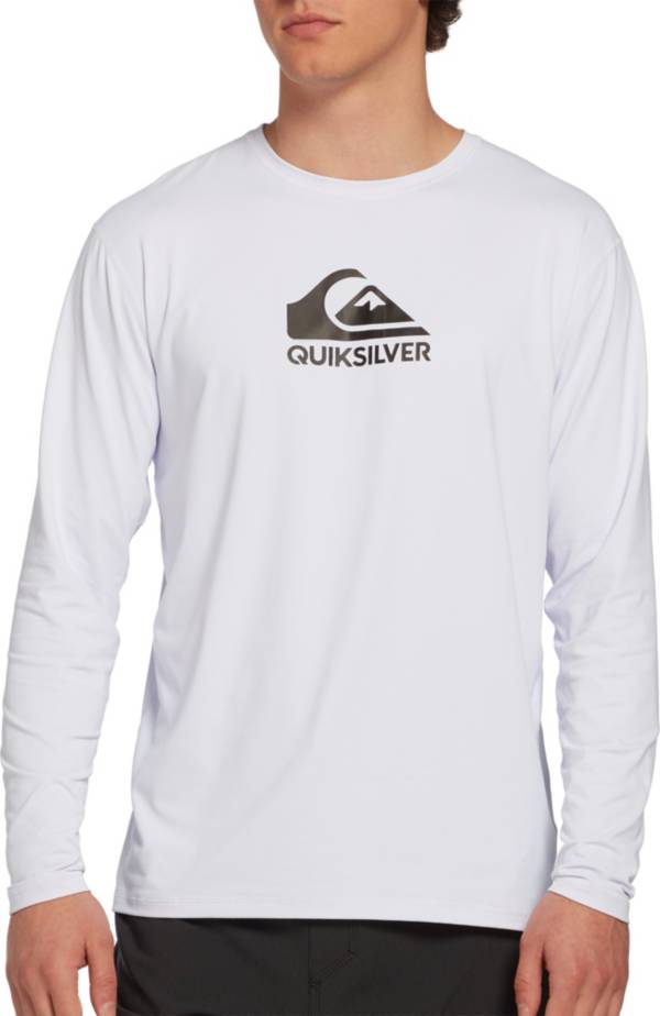 Quiksilver Men's Solid Streak Long Sleeve Rash Guard product image