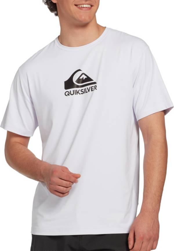 Quiksilver Men's Solid Streak Short Sleeve Rash Guard (Regular and Big & Tall) product image