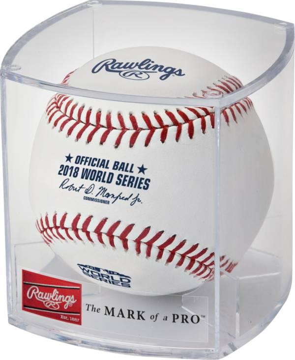 Rawlings 2018 World Series Baseball w/ Display Case product image