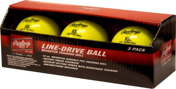 Rawlings Line Drive Training Ball – 3 Pack product image
