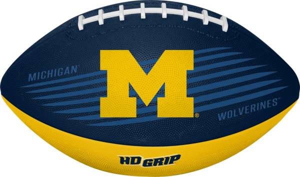 Rawlings Michigan Wolverines Grip Tek Youth Football product image