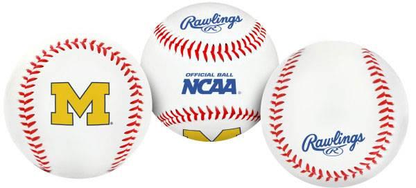 Rawlings Michigan Wolverines Logo Baseball product image