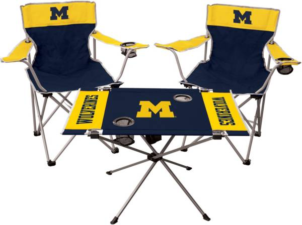 Rawlings Michigan Wolverines 3-Piece Tailgate Kit product image