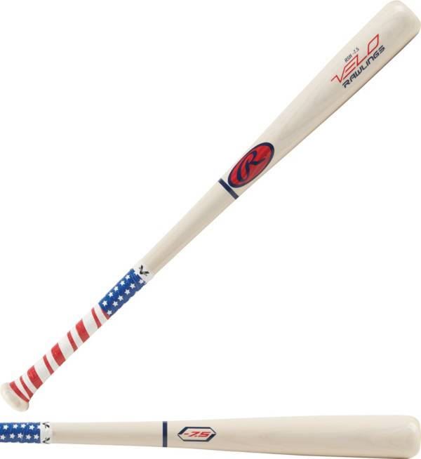 Rawlings VELO USA Ash Youth Bat 2019 (-7.5) product image