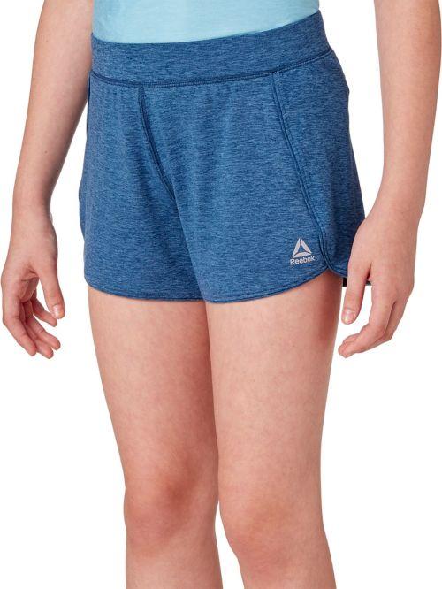 f3caaeb3f895 Reebok Girls  24 7 Jersey Shorts