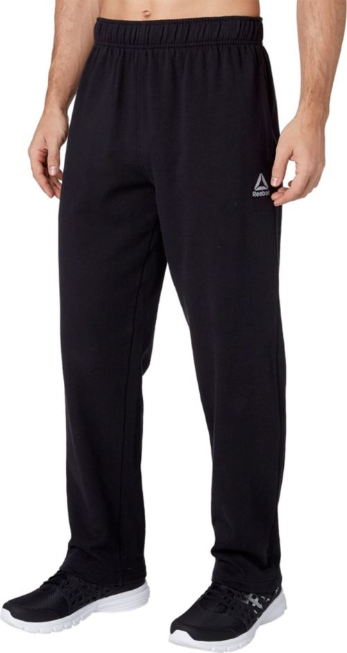 4cdbb5fe3b Reebok Men's Cotton Fleece Straight Leg Pants | DICK'S Sporting Goods