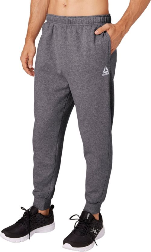 98da421abafa Reebok Men s Heather Cotton Fleece Jogger Pants. noImageFound. Previous