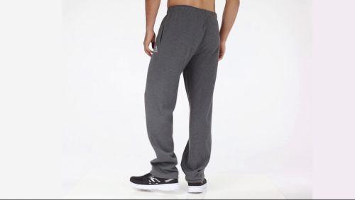 4f2ca00c33c2a Reebok Men's Heather Cotton Fleece Straight Leg Pants | DICK'S ...