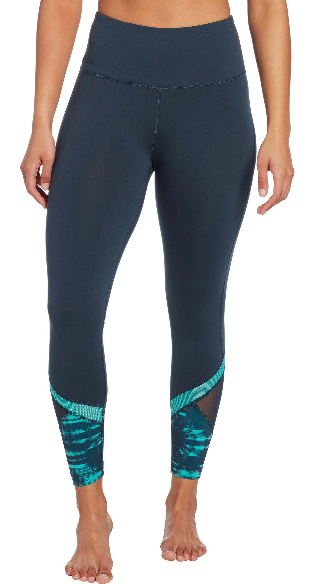 ace870df30ce63 Reebok Women's Performance Color Block Ankle Tights | DICK'S ...