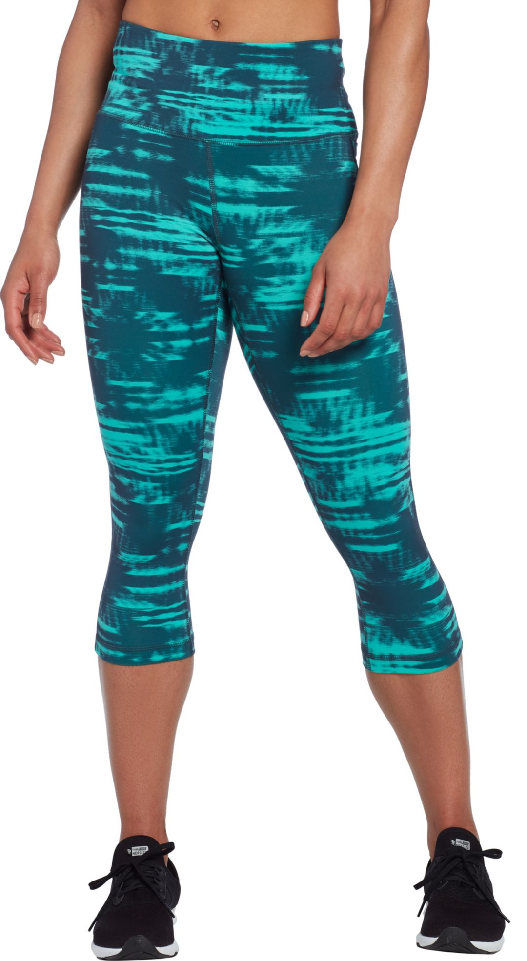 a8d9828c453f1 Reebok Women's Printed Performance Pocket Capris | DICK'S Sporting Goods