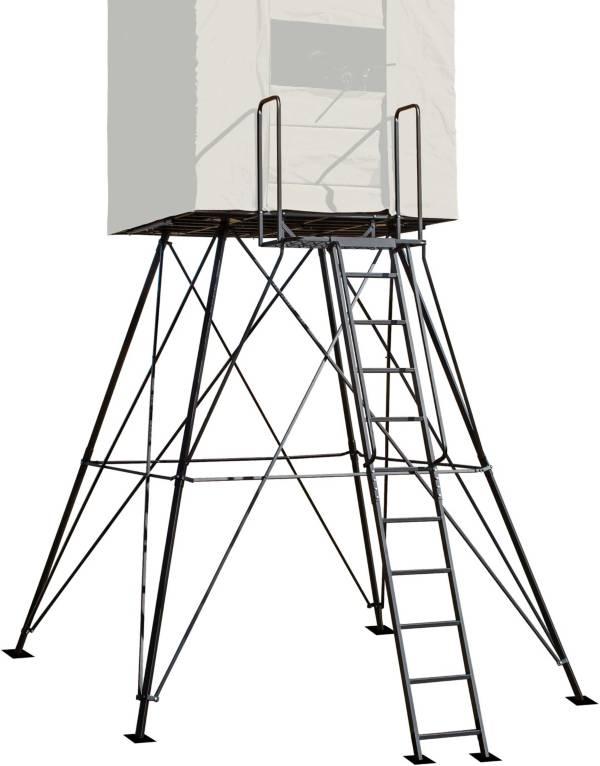 River's Edge Landmark 10' Elevated Box Blind Platform product image